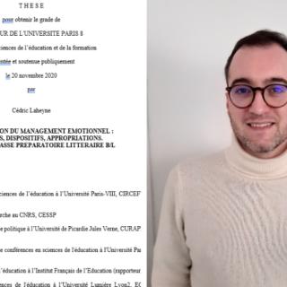 Cedric Laheyne ETSUP thèse de doctorat en sciences de l'éducation